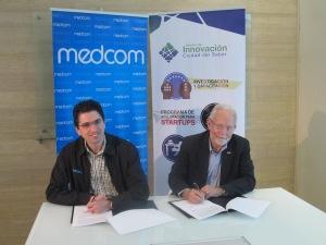 Firma de Convenio Medcom y Ciudad del Saber