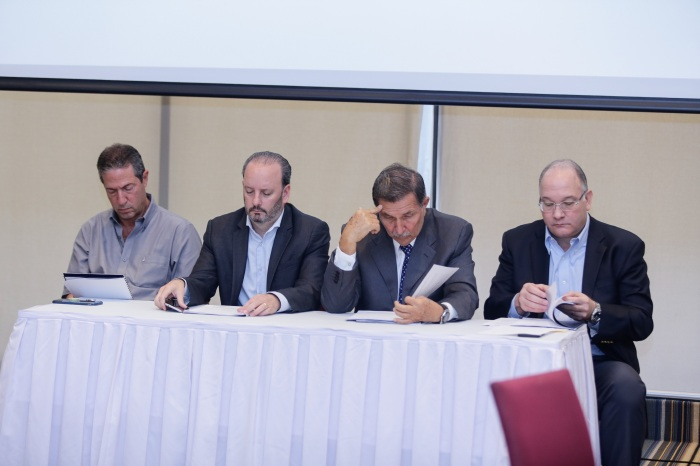 Jorge Cardoze, José Quijano, Augusto Boyd y  Federico Melo.